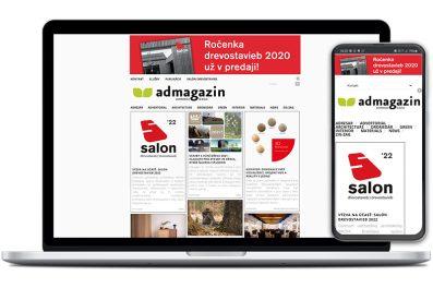 Admagazin webová stránka